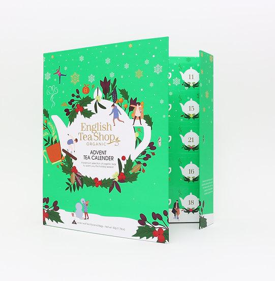 Book Style Green Advent Calendar (25 Tea Bag Sachets) | 058397