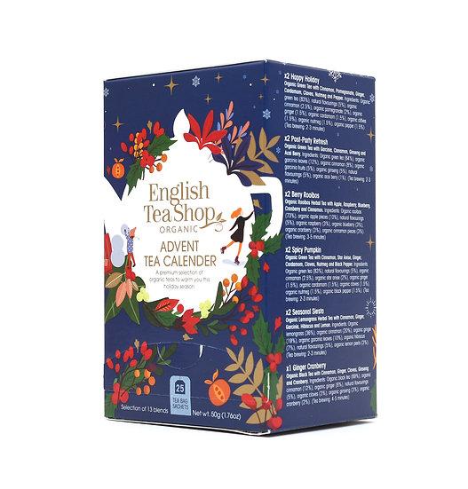 Christmas Night Advent Calendar (25 Loose Leaf Tea Pyramid Bags) | 058373