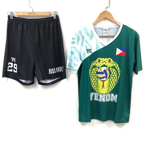 排球衫 Volleyball Jersey | 菲律賓女排冠軍球隊球衣 VENOM Philippines Champion Team (TC00019)