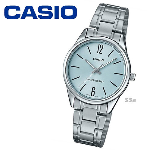 Casio Stainless Steel Watch (Ladies) | LTP-V005D-2B | S3a