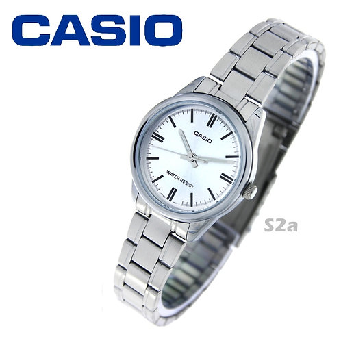 Casio Stainless Steel Watch (Ladies) | LTP-V005D-7A | S2a
