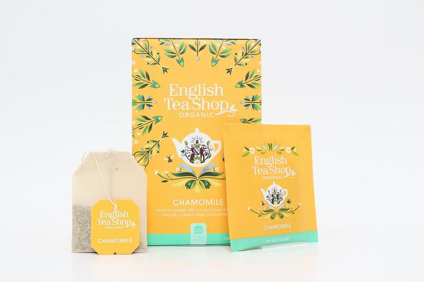 Chamomile (20 Tea Bag Sachets)   English Tea Shop   BR292504
