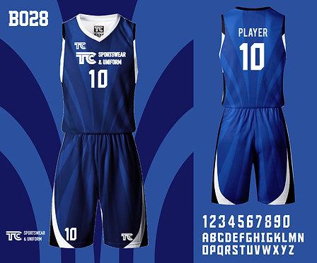 Basketball Jersey 籃球衫 (Design Template 參考設計 B028)
