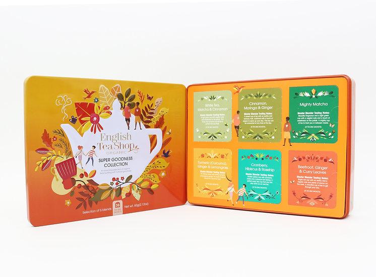 Super Goodness Collection Gift Tin (36 Tea Bag Sachets)   058151