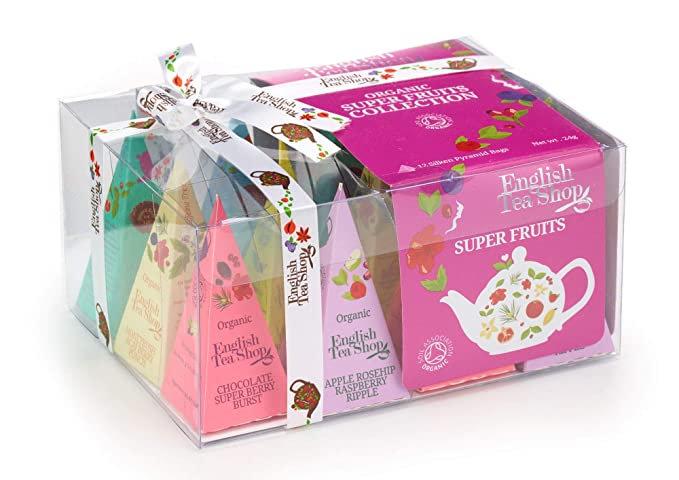 Super Fruits Collection (12 Pyramid Tea Bags) | English Tea Shop | 048909