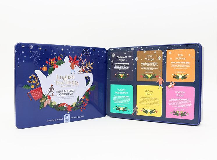 Blue Gift Tin (36 Tea Bag Sachets) | English Tea Shop | 058304