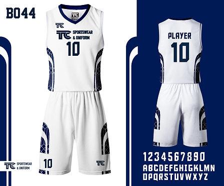 Basketball Jersey 籃球衫 (Design Template 參考設計 B044)