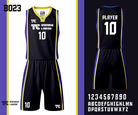 Basketball Jersey 籃球衫 (Design Template 參考設計 B023)