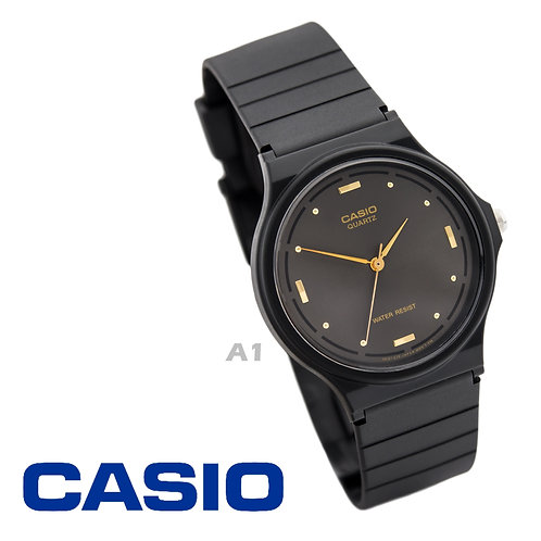 Casio Gold Markers Watch (Unisex) | MQ-76-1A | A1