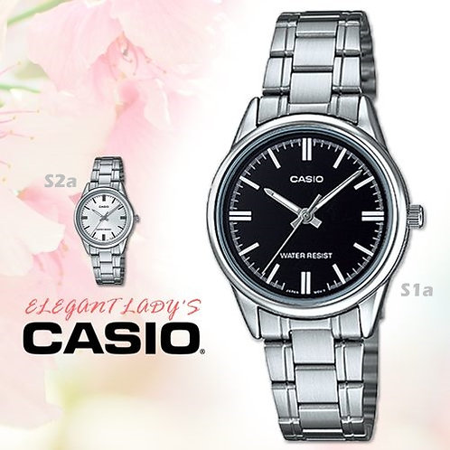 Casio Stainless Steel Watch (Ladies) | LTP-V005D-1A | S1a