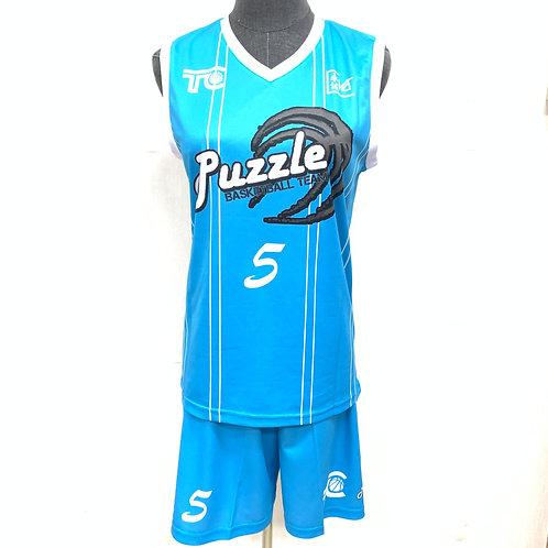 籃球衫 Basketball Jersey   Puzzle 女子籃球隊球衣 Women Team Jersey (021-00016)