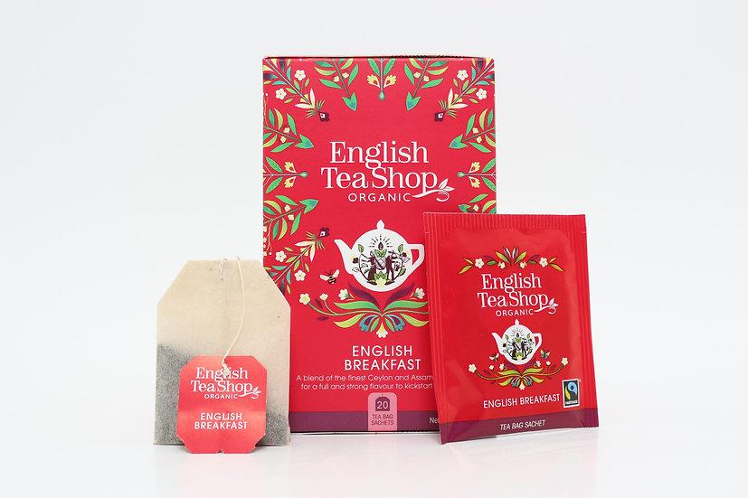 English Breakfast (20 Tea Bag Sachets)   English Tea Shop   BR290901