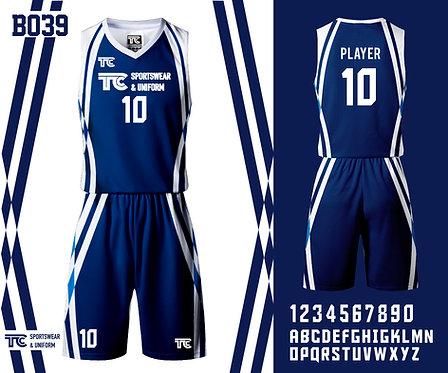 Basketball Jersey 籃球衫 (Design Template 參考設計 B039)