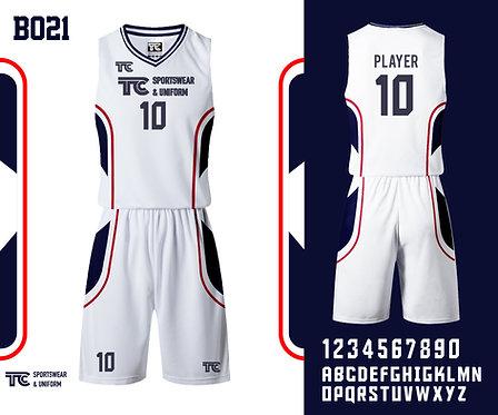 Basketball Jersey 籃球衫 (Design Template 參考設計 B021)
