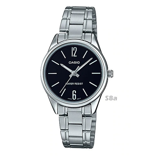 Casio Stainless Steel Watch (Ladies) | LTP-V005D-1B | S8a