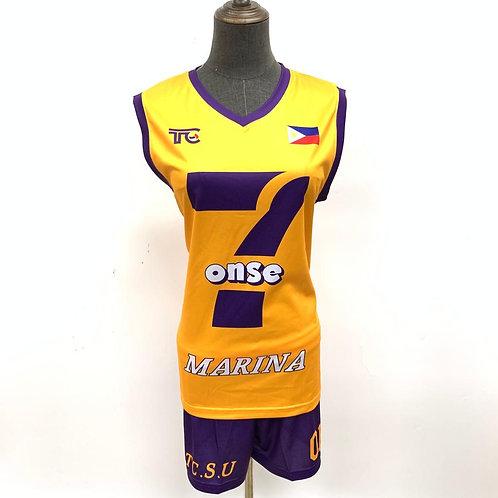 排球衫 Volleyball Jersey | 7onse Marina 女子排球隊球衣 Women Team Jersey (021-00062)