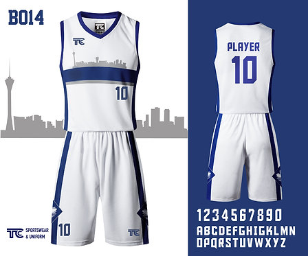 Basketball Jersey 籃球衫 (Design Template 參考設計 B014)