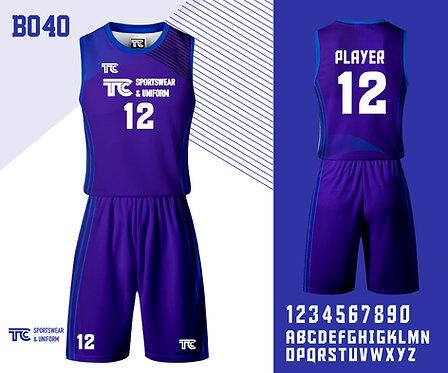 Basketball Jersey 籃球衫 (Design Template 參考設計 B040)