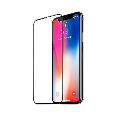 Edge to Edge Full Cover Tempered Glass Screen Protector for iPhone X