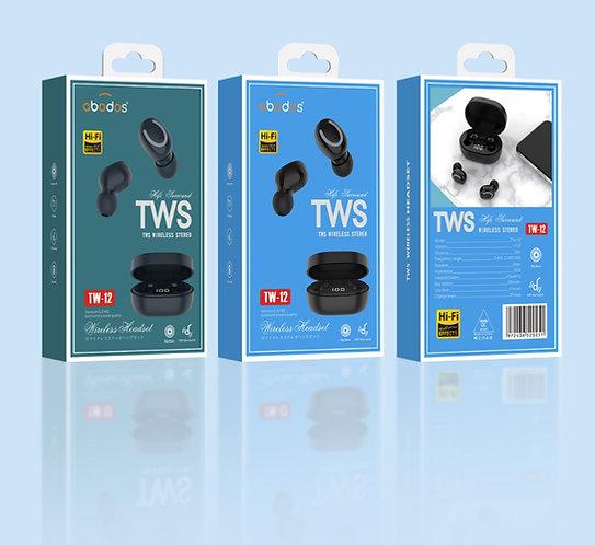 Abodos Wireless True Stereo Headset | TW-12