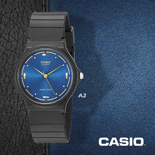 Casio Gold Markers Watch (Unisex) | MQ-76-2A | A2