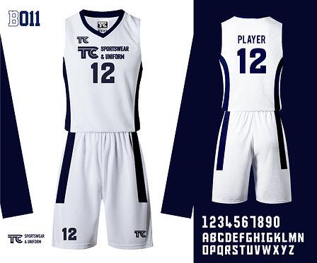 Basketball Jersey 籃球衫 (Design Template 參考設計 B011)