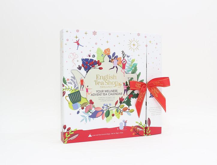 Book Style White Advent Calendar (25 Tea Bag Sachets) | 058977