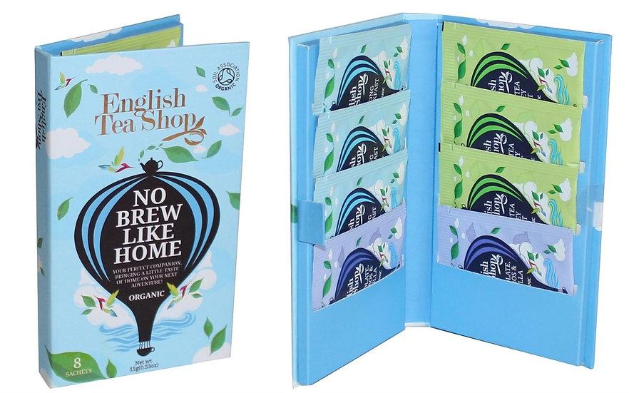 Traveller Pack for Him (8 Tea Bag Sachets)   English Tea Shop   052043