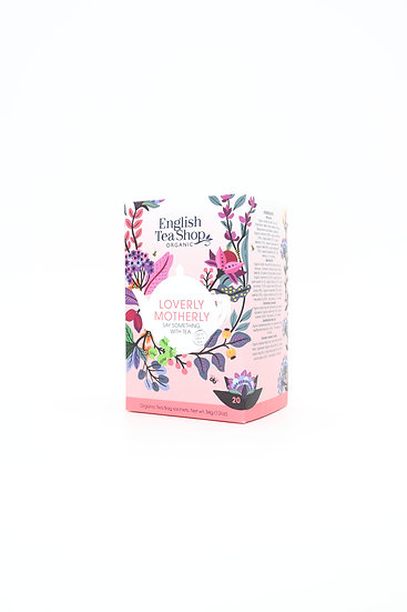 Loverly Motherly  (20 Tea Bag Sachets)   English Tea Shop   060161