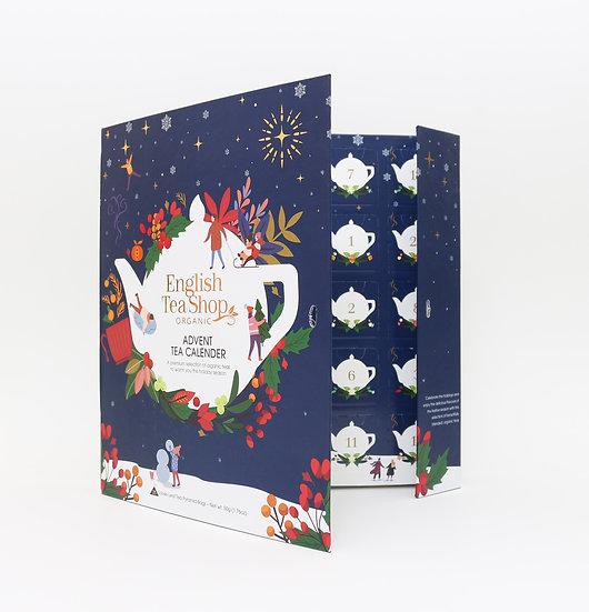Book Style Christmas Night Advent Calendar (25 Tea Bag Sachets)   058373