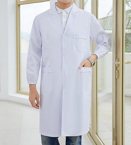 男裝長袖厚身醫生袍 Men Long Sleeve Medical Coat (TC344HB43 | Y105)