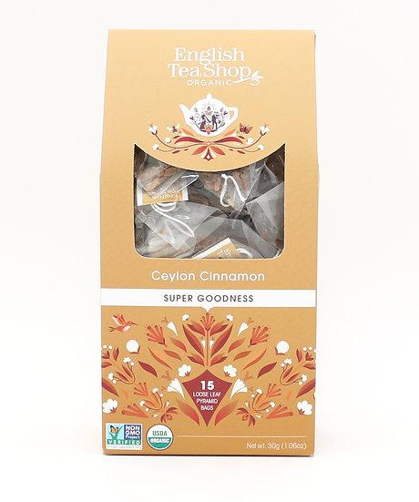Ceylon Cinnamon (15 Loose leaf pyramid tea bags)   059639