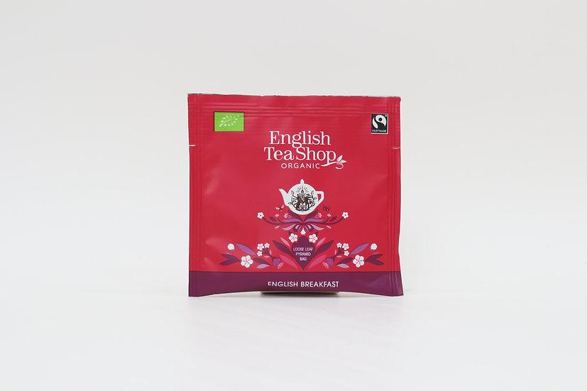English Breakfast (50 Loose leaf pyramid tea bags per pack)   060970