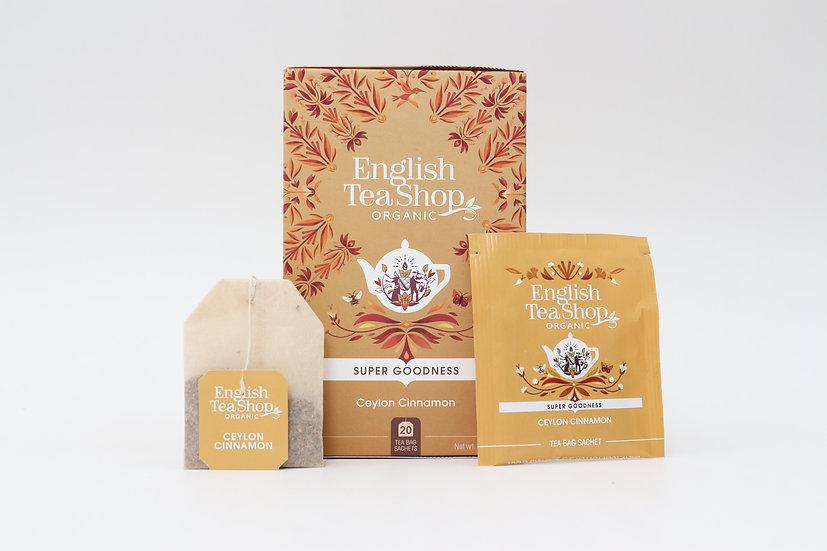 Ceylon Cinnamon (20 Tea Bag Sachets) | English Tea Shop | BR571852