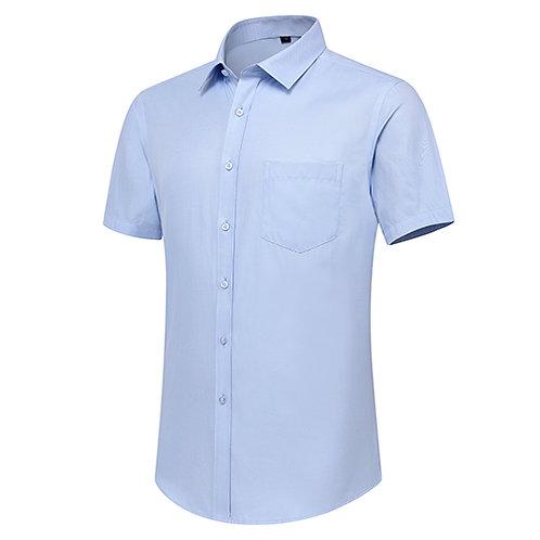 男裝口袋短袖裇衫Men Pocket Short Sleeve Shirt (TCAIK-HBZD)