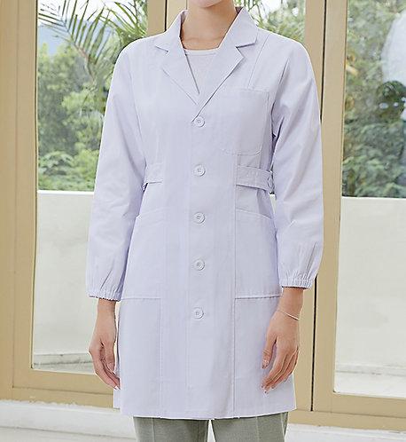 女裝長袖厚身醫生袍 Women Long Sleeve Medical Coat (TC344HB43 | Y205)
