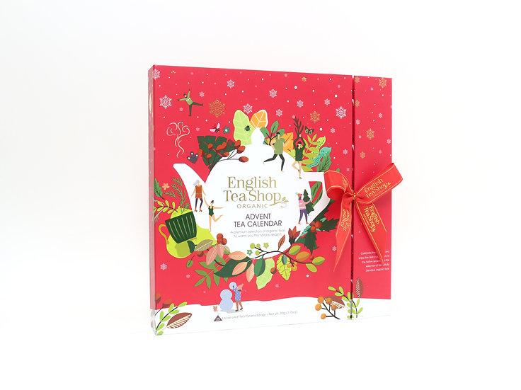 Book Style Red Advent Calendar (25 Tea Bag Sachets) | 060772