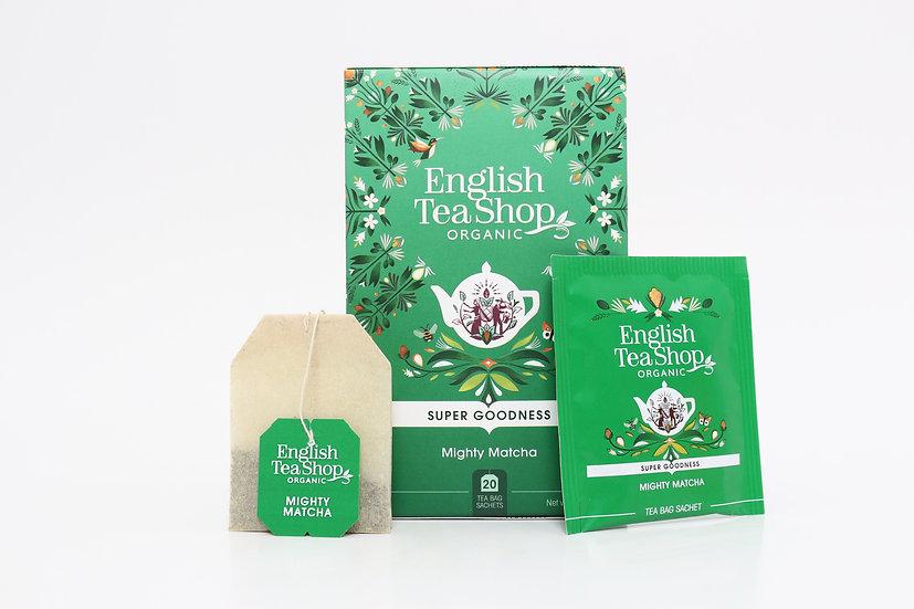 Mighty Matcha (20 Tea Bag Sachets) | English Tea Shop | BR579941