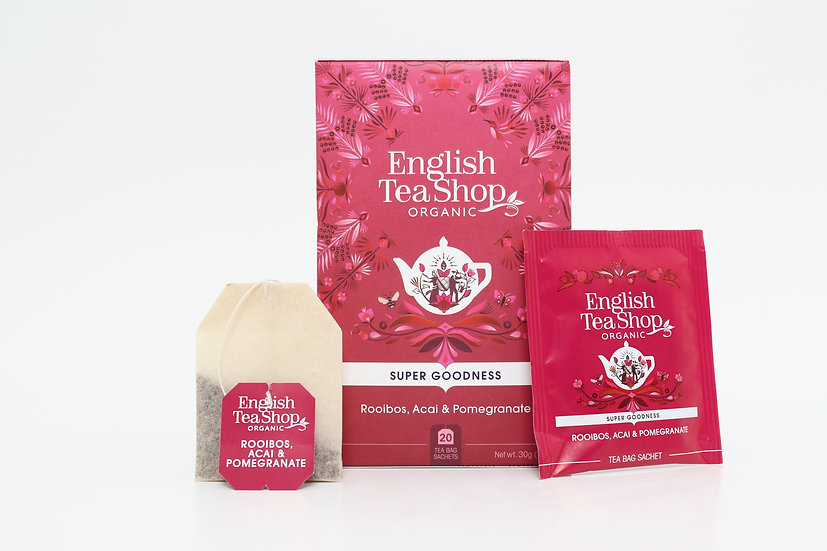 Rooibos, Acai & Pomegranate (20 Tea Bag Sachets) | BR577894