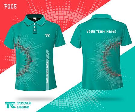 Polo裇 Polo Shirt (Design Template 參考設計 P005)
