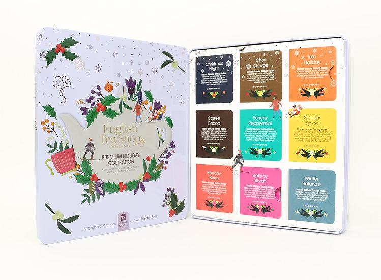 White Gift Tin (72 Tea Bag Sachets)   English Tea Shop   058342