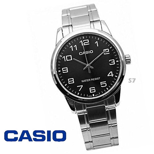Casio Stainless Steel Watch (Unisex) | MTP-V001D-1B | S7