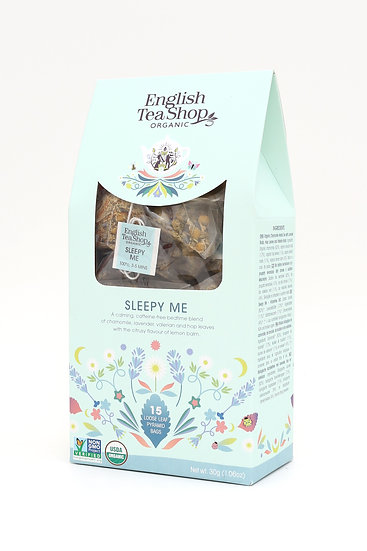Sleepy Me (15 Loose leaf pyramid tea bags) | English Tea Shop | 059677