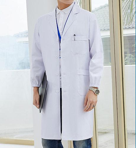 男裝長袖醫生袍 Men Long Sleeve Medical Coat (TC344HB43 | Y102)