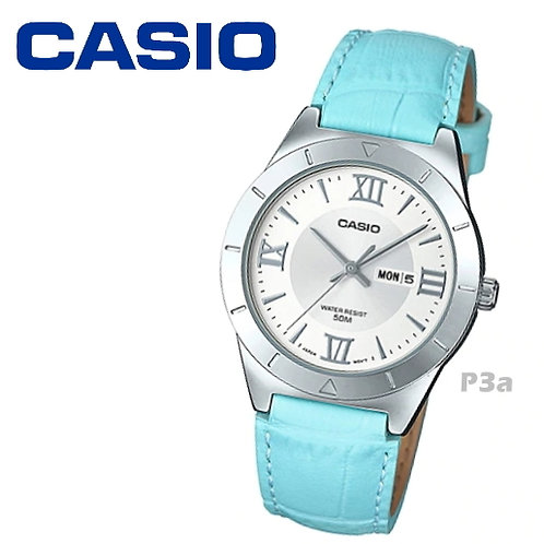 Casio Leather Watch (Ladies) | LTP-1410L-7A2 | P3a