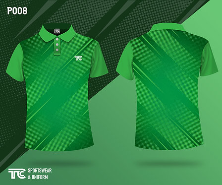 Polo裇 Polo Shirt (Design Template 參考設計 P008)