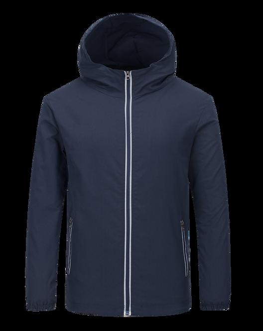 連帽拉鍊風褸外套 Zip-Up Hooded Windbreaker (TC189369-2HB0F)