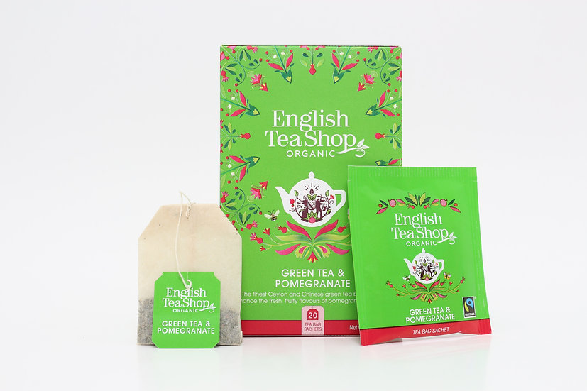 Green Tea & Pomegranate (20 Tea Bag Sachets)   BR290837