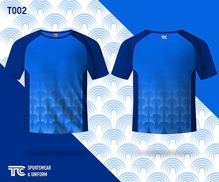 T裇 T-shirt (Design Template 參考設計 T002)