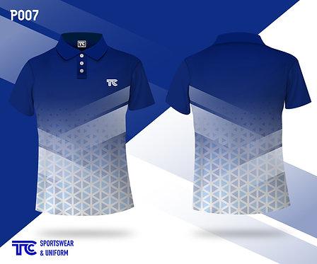 Polo裇 Polo Shirt (Design Template 參考設計 P007)